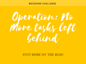 Operation: No More Tasks Left Behind